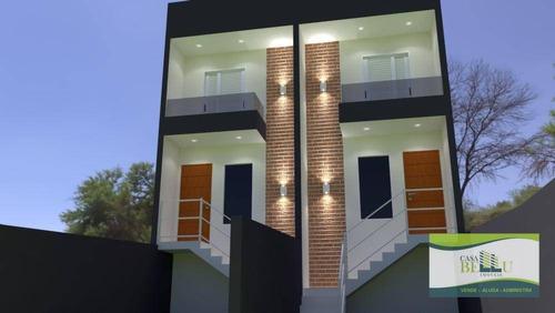 Casa Com 2 Dormitórios À Venda, 92 M² Por R$ 270.000,00 - Jardim Santo Antonio - Franco Da Rocha/sp - Ca0627