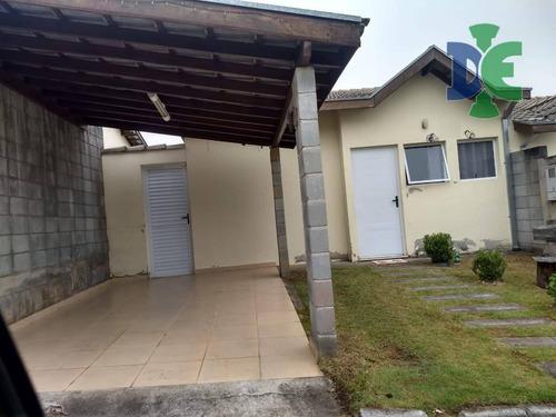 Casa Com 2 Dormitórios À Venda, 70 M² Por R$ 250.000,00 - Loteamento Jardim Sol Nascente - Jacareí/sp - Ca0147