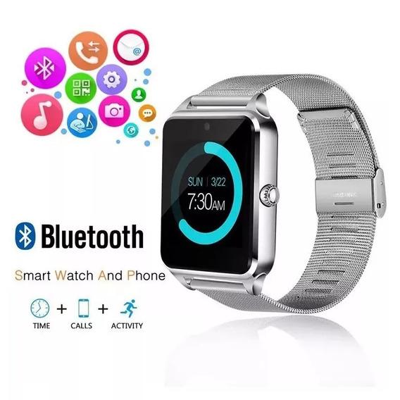 Relógio Bluetooth Inteligente Z60 Android Masculino Esportes