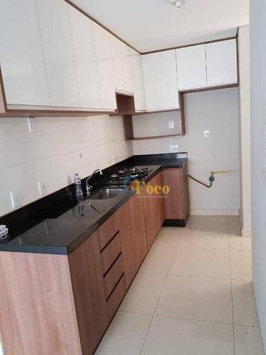 Apartamento Com 2 Dormitórios À Venda, 53 M² Por R$ 240.000,00 - Edificio Up Tower Ponte - Itatiba/sp - Ap0456