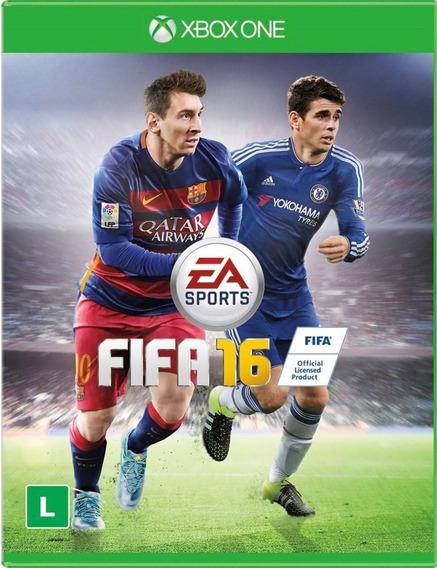 Jogo Fifa 16 Xbox One Original Português Pronta Entrega Game
