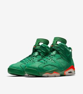 Nike Air Jordan Vi 6 Gatorade Pine Green Verdes 28mx 10us