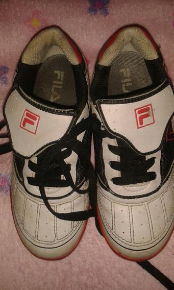Zapatos Deportivos Para Niños Fila Usados Nro 32