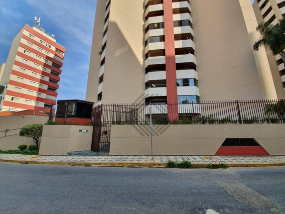 Apartamento Com 3 Dormitórios Para Alugar, 130 M² Por R$ 1.000/mês - Centro - Sorocaba/sp - Ap7977