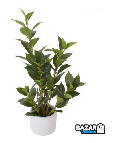 Imagen 1 de 3 de Maceta Planta Suculenta Artificial Decoración Numero 6