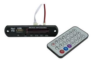 Módulo Mp3 Para Bocinas Amplificadas Bluetooth