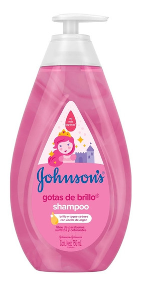 Shampoo Gotas De Brillo Johnson - mL a $33