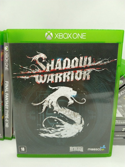 Jogo Shadow Warrior Xbox One Midia Fisica Original Xone