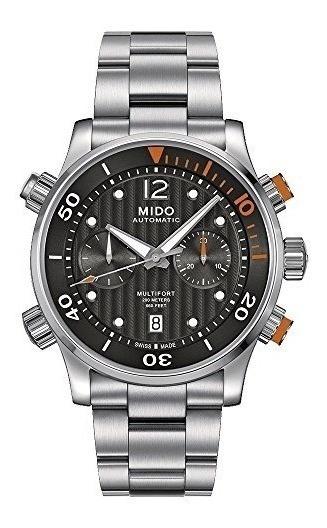 Reloj Mido M0059141106000 Para Caballero Ext De Acero