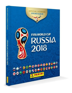 Álbum Copa Rússia 2018 Capa Dura + 200 Figurinhas Soltas