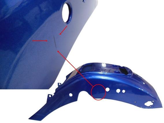 Carenagem Traseira Azul Kasinski Mirage 150 Com Detalhe