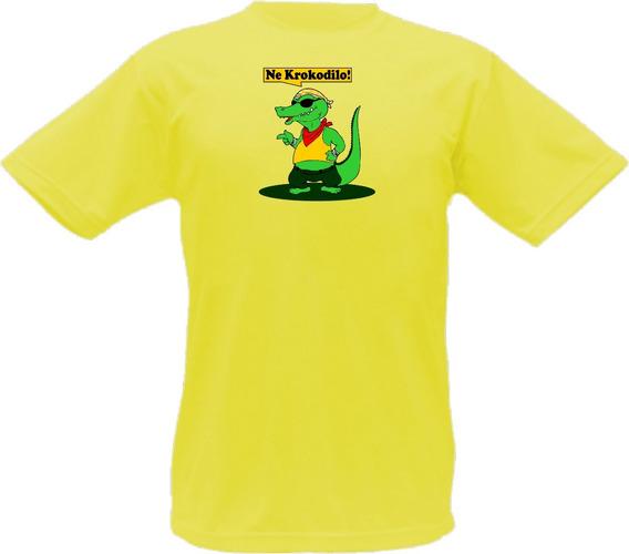 Camiseta Esperanto Ne Krokodilo Lingua Idioma Paz T-shirt