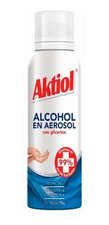 Aktiol Alcohol En Aerosol Con Glicerina 143ml