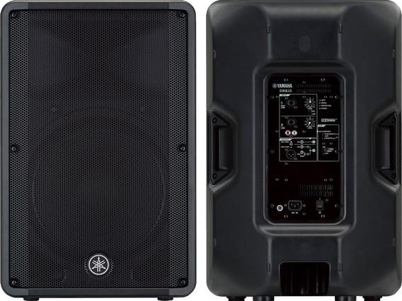 Caixa Som Ativa Yamaha Dbr15 1000w 15 Profissional Bivolt
