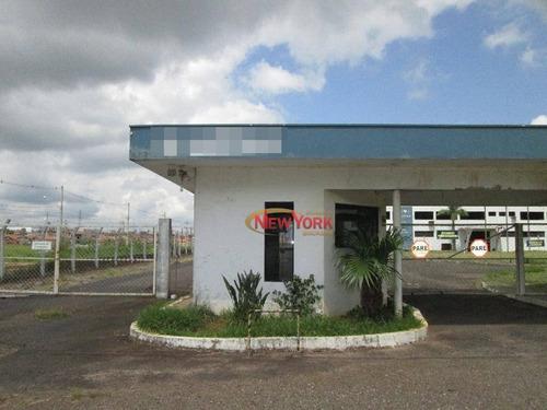 Barracão Comercial Para Venda E Locação, Zona Rural, São Carlos. - Ba0008