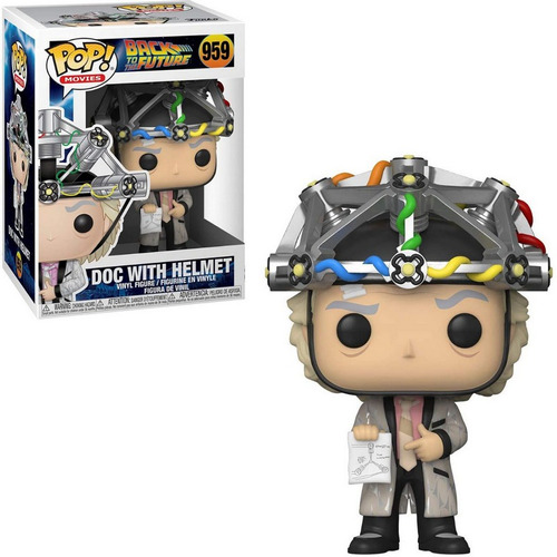 Funko Pop Back To The Future Doc With Helmet 959