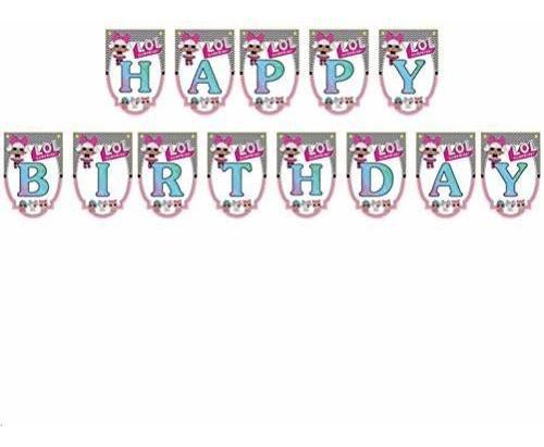 Suministros Para Fiesta De Cumpleaños L-o-l - Decoraciones D
