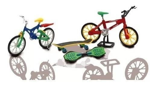 Kit Skate E Bike De Dedo Extreme Sports Brinquedos Pica Pau
