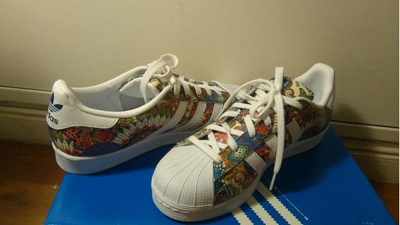 Zapatillas adidas N 40 Mexicanas
