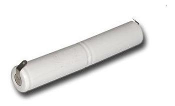 Bateria 2,4v Aa 1300mah Ni-mh Recarregável Com 2 Terminais
