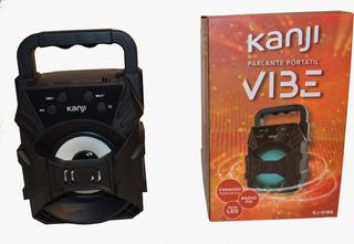 Parlante Kanji Vibe 10w Portátil Inalámbrico Bluetooth