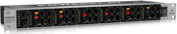 Amplificador De Fones Powerplay Behringer Ha6000 C/ 6 Canais