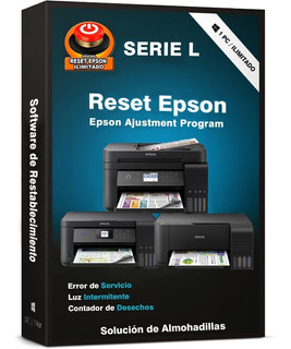 Reset Epson L1300 L1800 L310 L355 L365 L395 L495 M100 M200