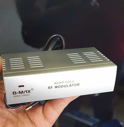 Modulador Áudio E Vídeo X Rf B-max