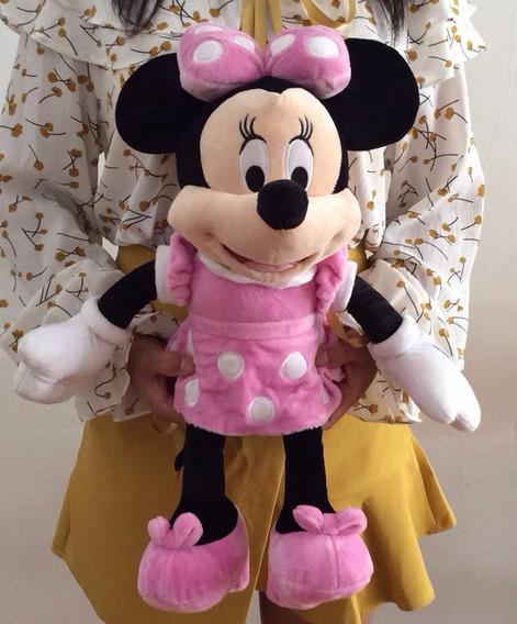 Pelúcia Minnie 30 Cm - Vermelha Ou Rosa Disney