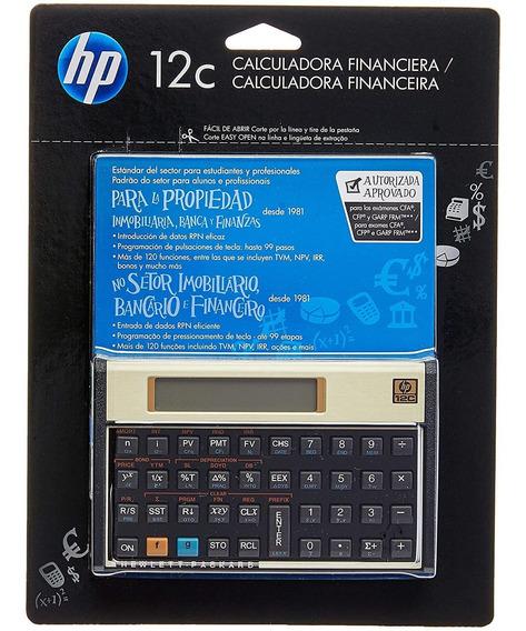 Calculadora Financeira Hp 12c + Estojo Nota Fiscal Garantia