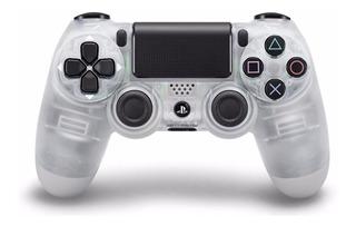 Control Ps4 Dualshock 4 Crystal + Grips. 2da Generación