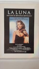 Cartazete Original Filme Cinema La Luna Bernardo Bertolucci