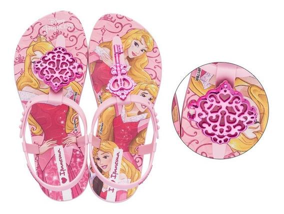 Sandália Infantil Disney Princesas Ipanema Grendene Chave