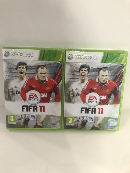 Promoção 2 Jogo Fifa 11 - Xbox 360 (europeu) Pal + Frete