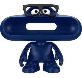 Caixa Som Beats Pills Bluetooth E Boneco Dude Azul Óculos