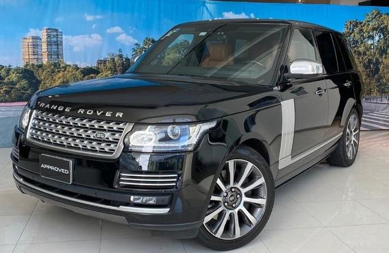 Range Rover Autobiography Super Cargada 2017