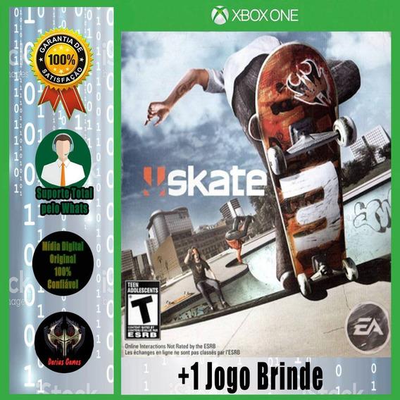Skate 3 Midia Digital Xbox One +1 Jogo Brinde