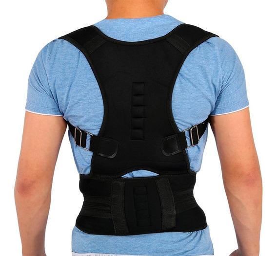 Corrector De Postura Para Espalda Soporte Unisex Con Imanes