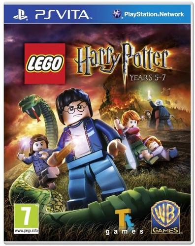 Ps Vita Lego Harry Potter Juego Fisico Nuevo Y Sellado