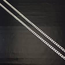 Cordão Corrente Italiana Grumet Prata 925 Frete-grátis 60 Cm