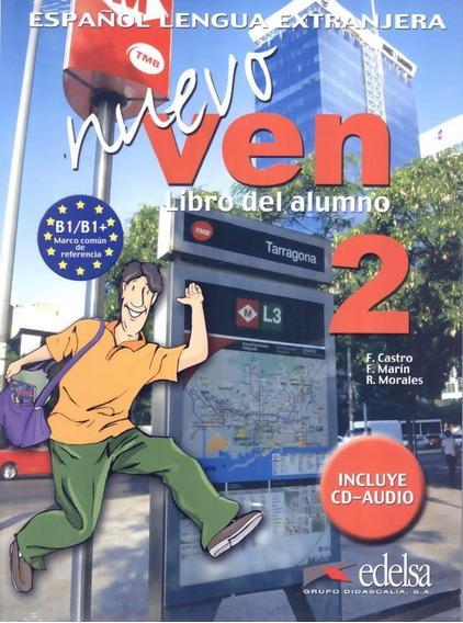 Nuevo Ven 2 Libro Del Alumno + Cd Audio