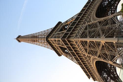 Imagen 1 de 5 de Cuadro 1-torre Eiffel-paris 20x32 Pulgadas C/marco Madera