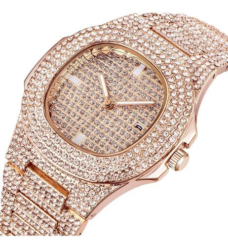 Reloj Hip Hop Lady - Bronce