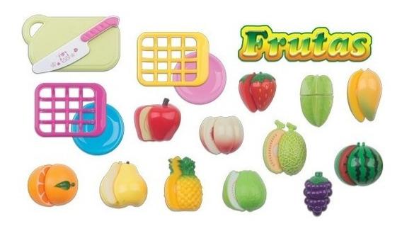 Frutas De Plástico Horti Fruti Boneca Ninos Barbie