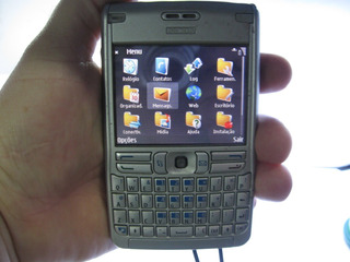 Celular Nokia E62-1 Rm-88 Funcionando Acompanha Bateria Ler