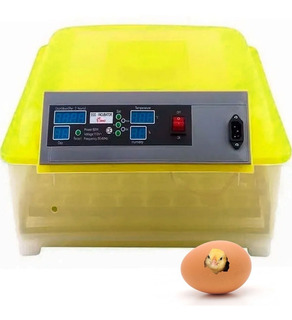 Incubadora Huevos 48 Pollos Volteador Automatico