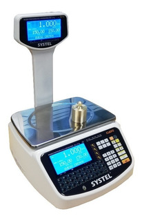 Balanza Digital Comercial Systel Cuora Max 30 Kg - E Gratis