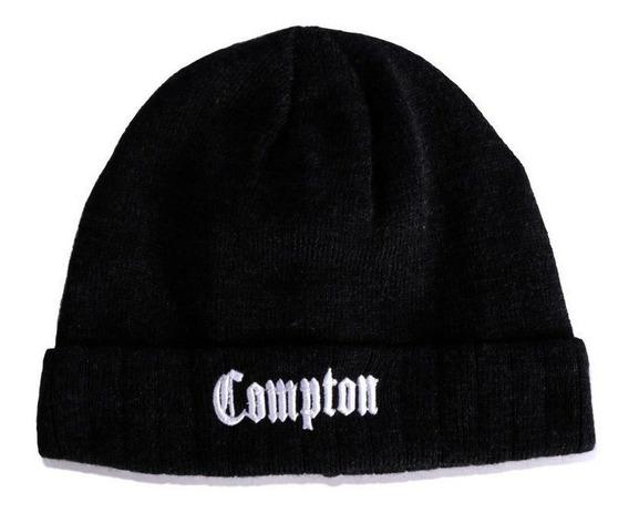 Touca Gorro Chronic Compton Preto Original -laçamento