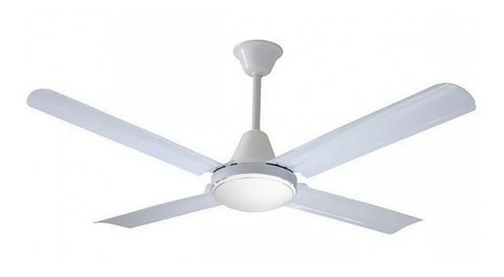 Ventilador De Techo Blanco 4 Palas Metal 20w Cuotas Premium