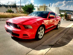 Ford Mustang 5.0l Gt Glass Roof Qc Piel Mt 2013